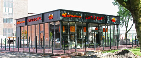 Ewald Cafe in Herten